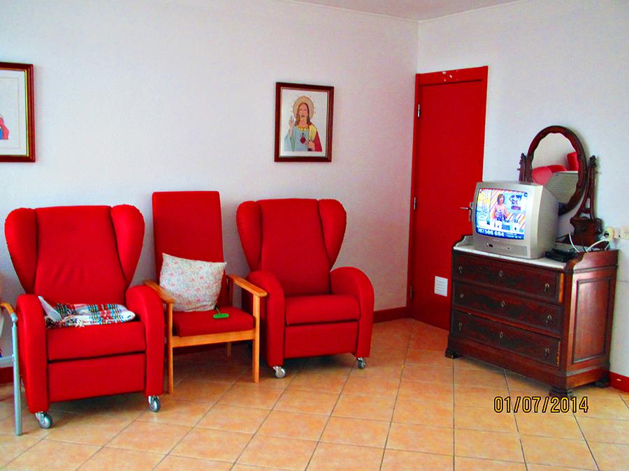 Pequena sala de estar