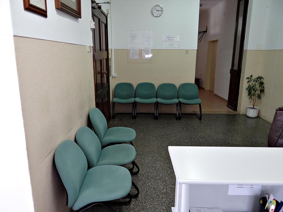 Hospital recepção