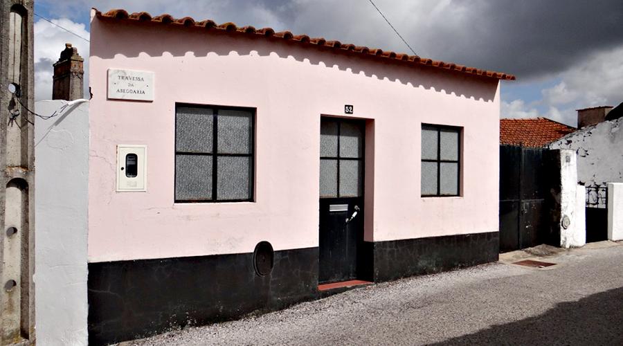 Exterior casa Abogaria, Louriceira